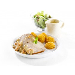 Rôti de filet de dinde Ardennais avec sauce