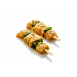 Brochette de filet de poulet piccadilly
