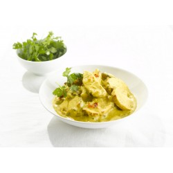 Emincés de filet de poulet curry-mango