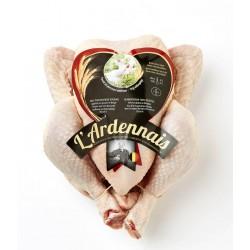 Poulet blanc Ardennais